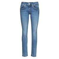 Clothing Women Straight jeans Pepe jeans GEN Blue