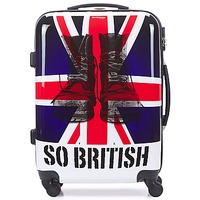 Hard Suitcases David Jones UNION JACK M