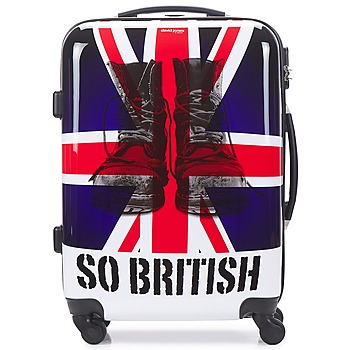 David Jones  UNION JACK M  mens Hard Suitcase in Multicolour