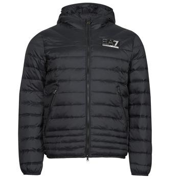 Clothing Men Duffel coats Emporio Armani EA7 MOUNTAIN M DOWN Black