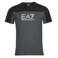 Clothing Men Short-sleeved t-shirts Emporio Armani EA7 TRAIN ATHLETIC Black