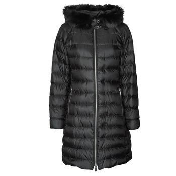 Clothing Women Duffel coats MICHAEL Michael Kors ECO LONG PERFMNC PUFFER Black