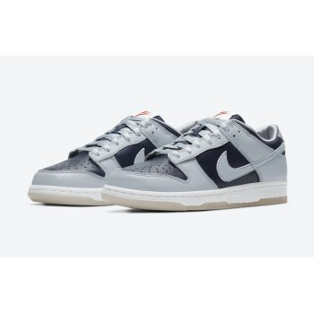 Shoes Low top trainers Nike Dunk Low College Navy College Navy/Wolf Grey-University Red