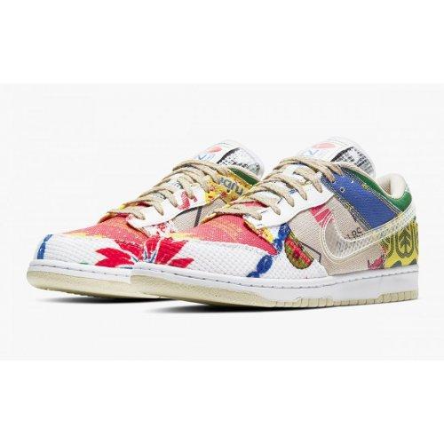 Shoes Low top trainers Nike Dunk Low City Market Multi-Color/Multi-Color