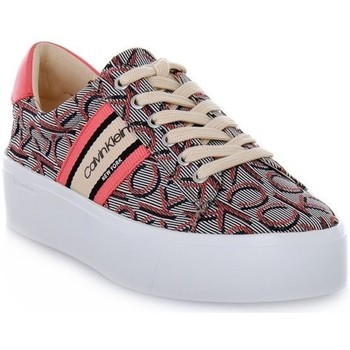 Shoes Women Low top trainers Calvin Klein Jeans B4E7955 White, Grey, Pink
