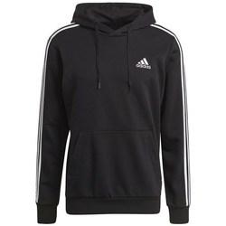 Clothing Men Sweaters adidas Originals 3STRIPES FT HD Black