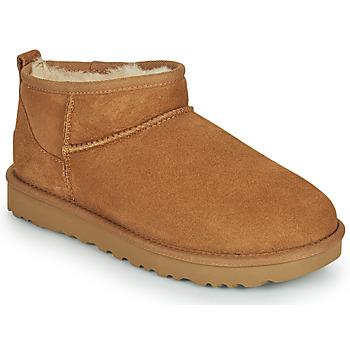 Shoes Women Mid boots UGG Classic Ultra Mini Camel