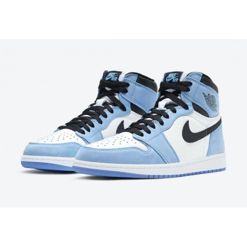 Shoes Hi top trainers Nike Air Jordan 1 High Og University Blue White/University Blue-Black