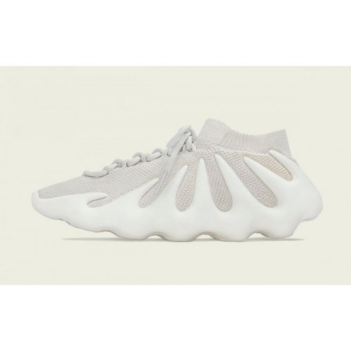 Shoes Low top trainers adidas Originals Yeezy 450 cloud White Cloud White/Beige