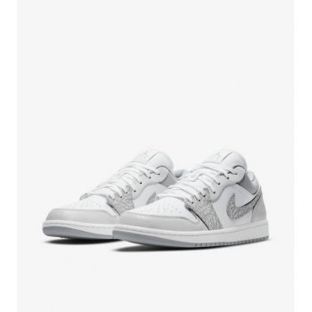 Shoes Low top trainers Nike Air Jordan 1 Low Berlin Grey Elephant White/Neutral Grey-Sail-Smoke Grey