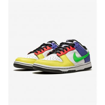 Shoes Low top trainers Nike Dunk Low Green Strike Multi-Color/Multi-Color