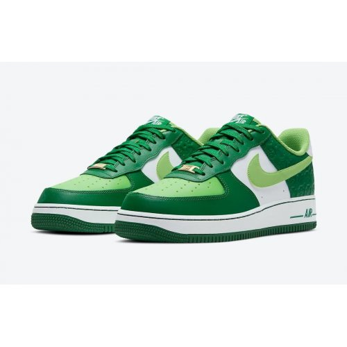 Shoes Low top trainers Nike Air Force 1 Low St Patricks Day White/Green