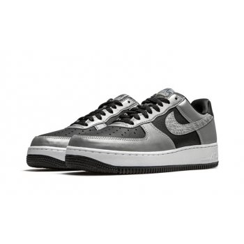 Shoes Low top trainers Nike Air Force 1 Low Reflective Snakeskin Black/Silver/Black