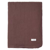 Home Tablecloth Broste Copenhagen GRACIE Purple / Aubergine