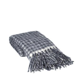 Home Blankets, throws Broste Copenhagen IDA Blue
