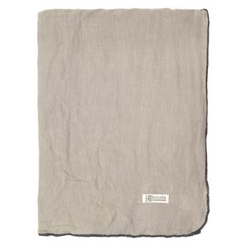 Home Tablecloth Broste Copenhagen GRACIE Taupe