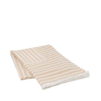 Home Blankets, throws Broste Copenhagen FRANKIE Beige