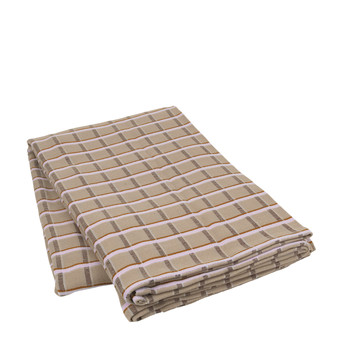 Home Blankets, throws Broste Copenhagen ZAPPA Taupe
