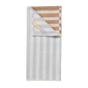 Home Tea towel Broste Copenhagen FRANKIE X2 Blue / Clear