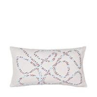 Home Cushions covers Broste Copenhagen KNUD Blue / Celeste