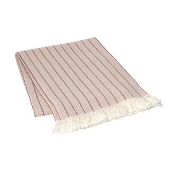 Home Blankets, throws Broste Copenhagen ASK Brown / Clear