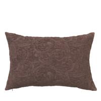 Home Cushions covers Broste Copenhagen MUSHROOM Bordeaux