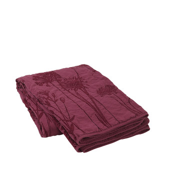 Home Blankets, throws Broste Copenhagen SIGVAL Bordeaux