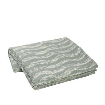 Home Blankets, throws Broste Copenhagen SEA Grey / Clear