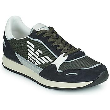 Shoes Men Low top trainers Emporio Armani ANIMA Black