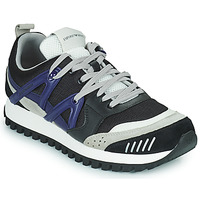 Shoes Men Low top trainers Emporio Armani BOLINNA Black / White / Blue
