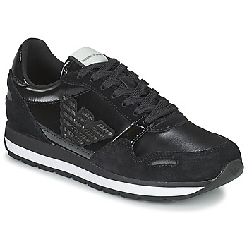 Shoes Women Low top trainers Emporio Armani TAPINO Black
