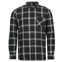 Clothing Men Long-sleeved shirts Rip Curl CHECKED OUT L/S FLANNEL Black