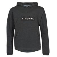 Clothing Men Sweaters Rip Curl VAPORCOOL HOOD Black / Mottled