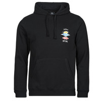 Clothing Men Sweaters Rip Curl SEARCH ICON HOOD Black