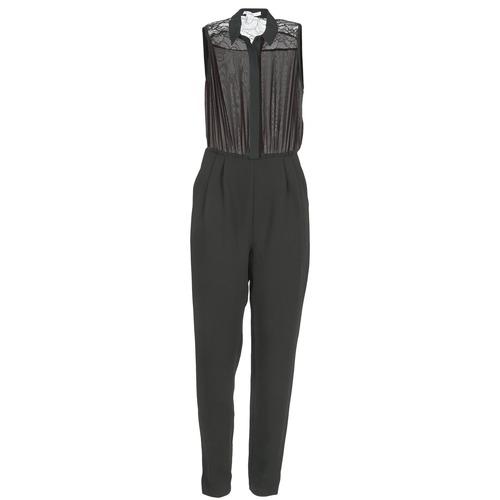 Clothing Women Jumpsuits / Dungarees BCBGeneration EGLANTINE Black