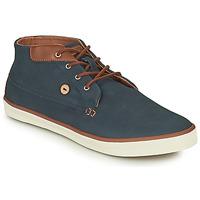 Shoes Men Hi top trainers Faguo WATTLE Marine / Brown