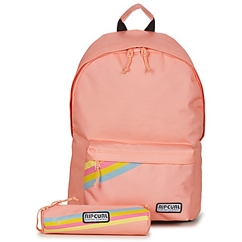 Bags Girl Rucksacks Rip Curl DOME 18L + PC SOLID 2021 Pink