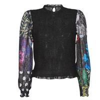 Clothing Women Tops / Blouses Desigual HAMBURGO Black