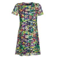 Clothing Women Short Dresses Desigual ANN Multicolour