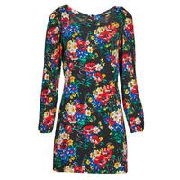 Clothing Women Short Dresses Desigual NILO Multicolour