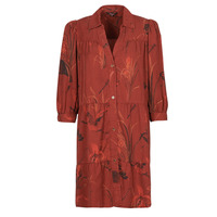 Clothing Women Short Dresses Desigual SEVILLA Red
