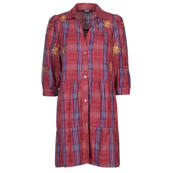 Clothing Women Short Dresses Desigual DORA MAAR Multicolour
