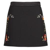 Clothing Women Skirts Desigual INAYA Black