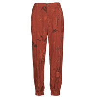 Clothing Women Wide leg / Harem trousers Desigual CAMOTIGER Red