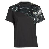 Clothing Women Short-sleeved t-shirts Desigual GRACE HOPPER Black