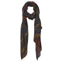 Clothes accessories Women Scarves / Slings Desigual CAMO ANIMAL Brown