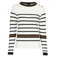 Clothing Women Jumpers Armor Lux PULL MARIN IDE White