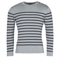 Clothing Men Jumpers Armor Lux PULL GOULENEZ Blue / Grey