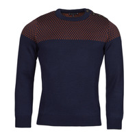 Clothing Men Jumpers Armor Lux PULL MARIN REVISITE Blue