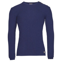 Clothing Men Jumpers Armor Lux PULL MARIN HERITAGE Blue
